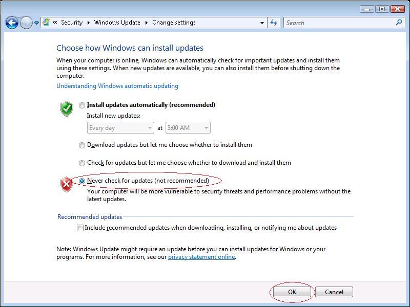 Windows Vista hangs on \u201cChecking for updates\u201d | Roman Štefko | EN